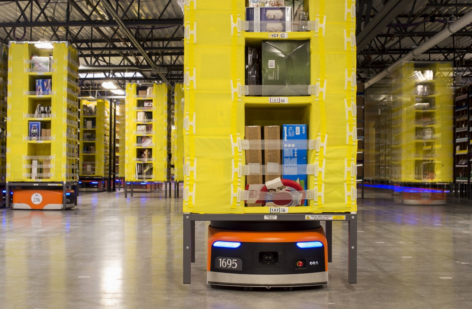 Immagine AMAZON ROBOTICS, PRESTO IN ITALIA